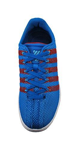 K-swiss Herenschoenen Klassieke Vn Lage Blauw / Rode Sneakers