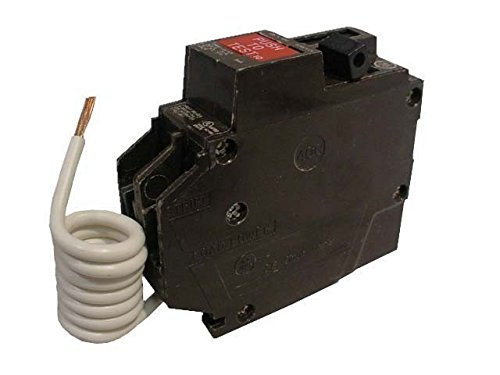 General Electric THQL1120GF Ground Fault Circuit Breaker, 1-Pole, 20-Amp, 120V (Ge Circuit Breaker Single Pole)