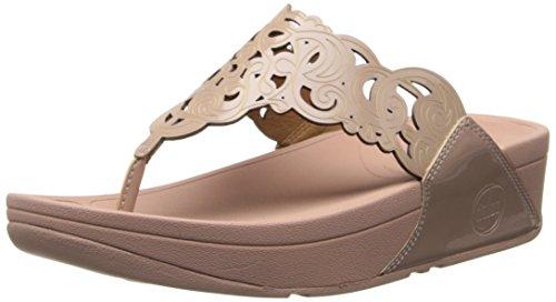 1481ba58a3fd FitFlop Women s Flora Patent Flip-Flop - Buy Online in Kuwait ...