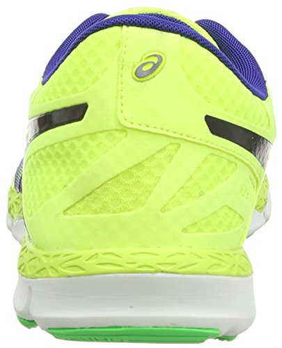 Asics 33-DFA, Scarpe Sportive, Uomo Deep Blue/Onyx/Flash Yellow 4399