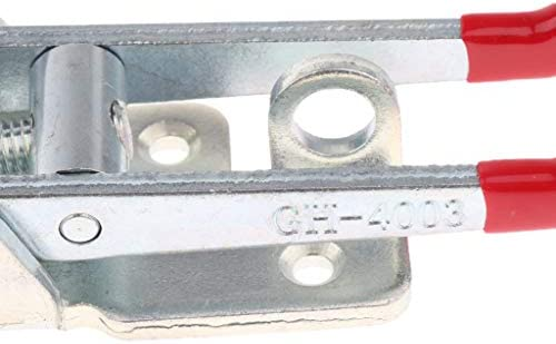 トグルクランプ クランプ クリップロック式 炭素鋼製 固定ツール GH-4003 L