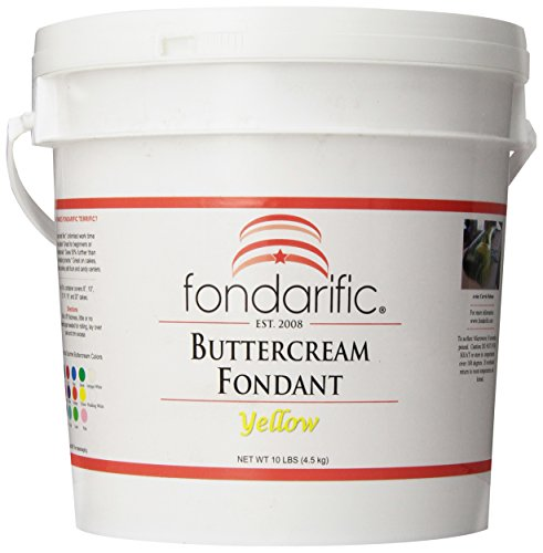 Fondarific Buttercream Yellow Fondant, 10-Pounds by Fondarific (Image #9)