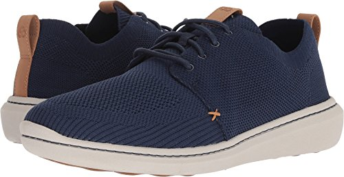 Clarks Men's Step Urban Mix Shoe, navy textile knit, 120 M US