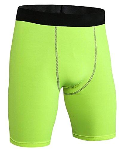 Voler Shorts - Beloved Mens Compression Shorts Training Athletics Workout Tight Sports Base Layer Sport Shorts 2 XL