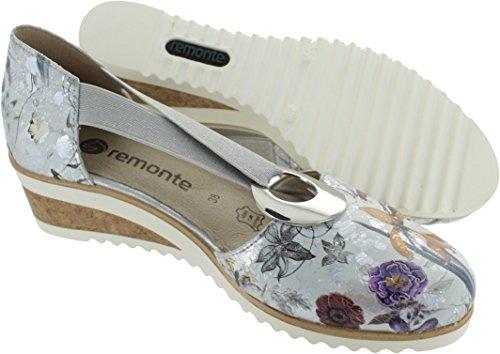 Remonte D5502-90, Escarpins Pour Femme Gris Gris