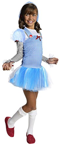 Lion From The Wizard Of Oz Costumes (Rubies Wizard of Oz Dorothy Hoodie Dress Costume, Child Medium)