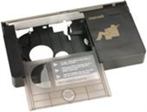 Brand New, Maxell - VHS-C Mechanical Adapter Converts VHS-C to a T-120 (Audio/Video Accessories - Blank Video Media)
