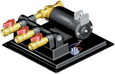 Jabsco 17820-0012 Oil Changer System Permanent Mount 12V DC Pump (Jabsco Oil Change System)