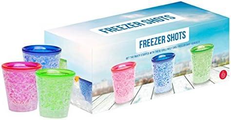 Gel, apta para congelador Congelador vasos de chupito X3 – el ...