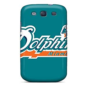 S3 Scratch-proof Protection Case Cover For Galaxy/ Hot Miami Dolphins Phone Case