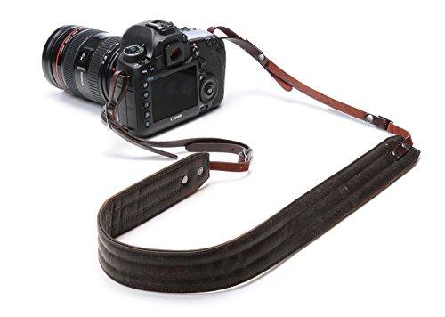 ONA - The Presidio - Camera Strap - Dark Truffle Leather (ONA023LDB) (Neckline Leather)