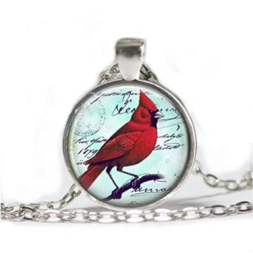 Cardinal Jewelry Cardinal Necklace Cardinal Red Bird Necklace (Bird Charm Cardinal)