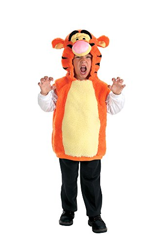 Toddler Tigger Costume 2t (Baby-Toddler-Costume Vest Tigger Toddler Costume 2T Halloween Costume)