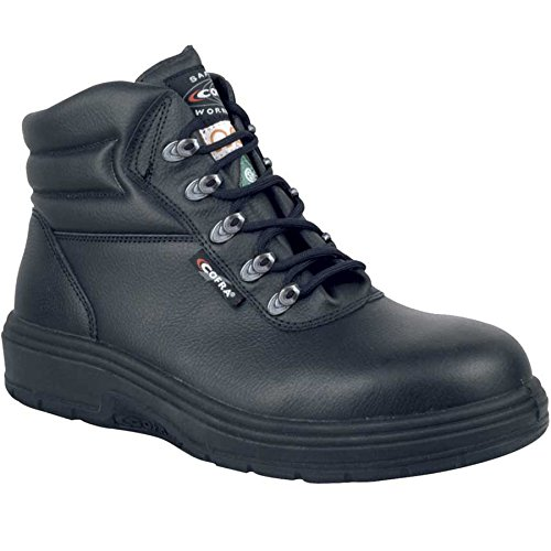Cofra 82020-CU0.W12 New Asphalt EH PR Safety Boots, 12, Black
