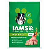iams dog food lamb and rice - IAMS PROACTIVE HEALTH Adult Minichunks Dry Dog Food Chicken, 30 lb. Bag