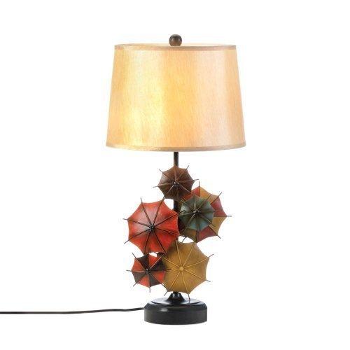 Smart Living Company 10017286 Colorful Umbrella Table Lamp, 14