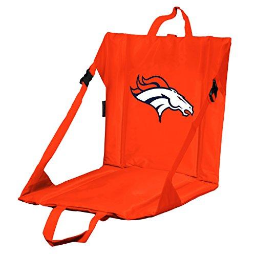 Logo Brands NFL Denver Broncos Stadium Seat, One Size, - Nfl Stadium Broncos Denver