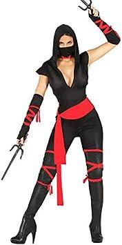 Disfraz de mujer ninja adulta talla M (38-40): Amazon.es: Juguetes y ...