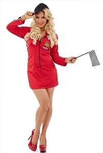 Red dress costume 300