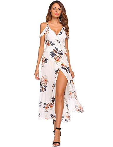 White Floral Dress - 1