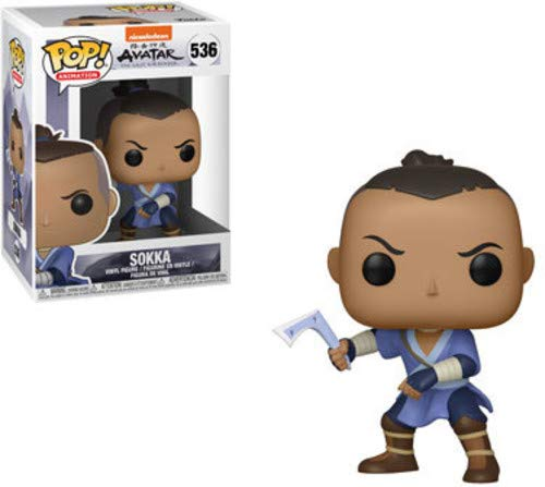 Funko Pop! Animation: Avatar - Sokka Toy, Multicolor (Avatar The Last Airbender Katara And Toph)