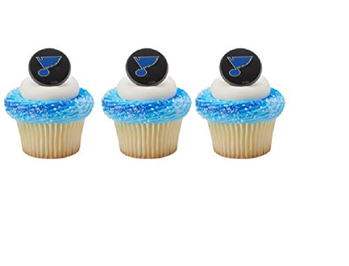 12-cupcake-topper-rings-new-st-louis-blues-hockey-nhl-party-any-occasion-birthday-fan-favors-cake-de