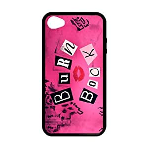 CMGOODS Pink case Burn Book Custom Case for iPhone 4,4S (Laser Technology)