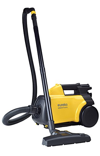 Eureka Mighty Mite 3670G Corded Canister Vacuum Cleaner, Yellow, Pet, 3670g-yellow (Best Commercial Canister Vacuum)