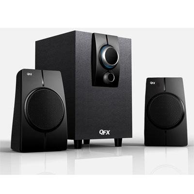 QFX Multi-Media Speakers with Built-In Bluetooth (BT200)