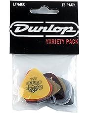 Jim Dunlop GA030PVP101 12 Pick Variety Pack, Light/Medium