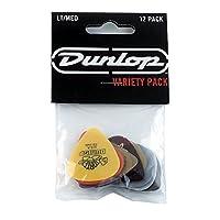 Jim Dunlop PVP101 Variety Medium/Light Guitar Pick Player Pack (Pack of 12)