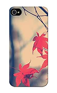 New Maple Leaves Tpu Case Cover, Anti-scratch RYCbzdb7719HfgyJ Phone Case For Iphone 5/5s With Design