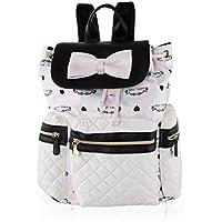 Betsey Johnson Womens Drawstring Backpack