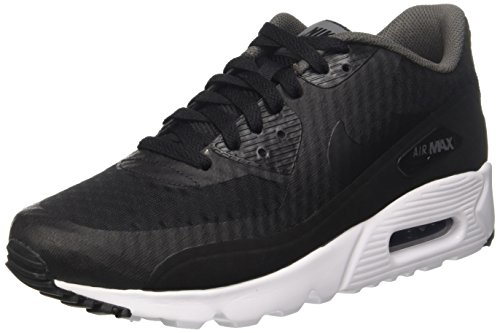 NIKE Air Max 90 Ultra Essential, Scarpe da Corsa Uomo Nero (Black/Dark Grey/White)