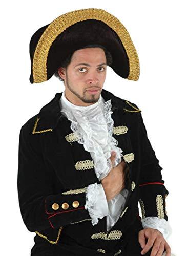 elope Black Tricorn Hat -