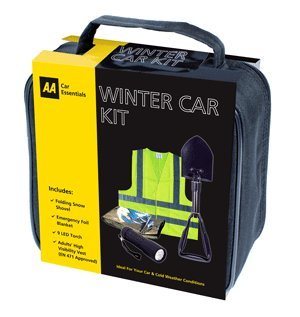 AA Winter Snow Car Kit with folding AA Snow Shovel