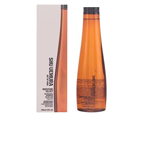 Shu Uemura Moisture Velvet Nourishing Shampoo Unisex, 10 Ounce by Shu Uemura