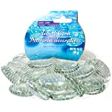 Greenbrier Glass Gems for Vase Accents and Crafting (2 Bags, Jumbo Clear Gems)