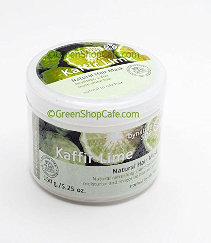 BYNATURE KAFFIR LIME NATURAL HAIR MASK 150ML[Get Free Tomato Facial Mask & Ceramine UV Line Ginkgo (Ginkgo Mask)