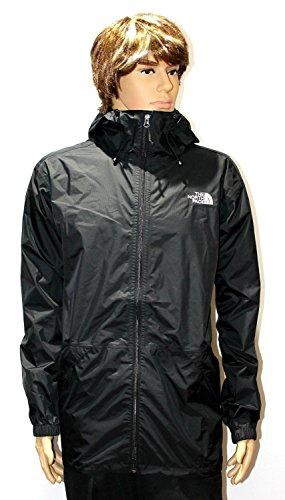 North Face Men's TNF Black Bakossi Rain Jacket (XXL)