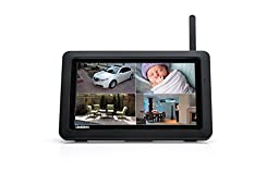 Uniden UDR744 Outdoor Cameras with 7-Inch LCD Touchscreen (Black)