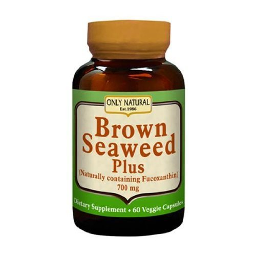 Seaweed Brown Natural (ONLY NATURAL BROWN SEAWEED PLUS 700MG, 60 VCAP by Only Natural)