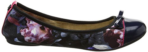 Butterfly Twists Cara Nero Floral Donne Ballerine Flats Scarpe