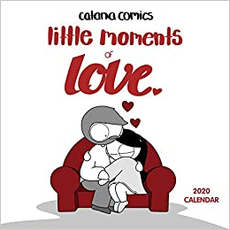 Best Graphic Novels 2020.Catana Comics Little Moments Of Love 2020 Wall Calendar