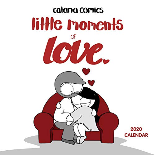 - Catana Comics Little Moments of Love 2020 Wall Calendar