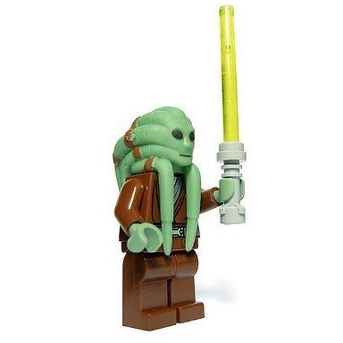 Lego Star Wars Mini Figure - Jedi Kit Fisto with Lightsaber (Approximately (Star Wars Mini Figures Game)