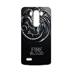 DAHAOC Game of Thrones Cell Phone Case for LG G3