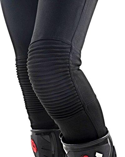Genuine MotoGirl 100/% Dupont/™ Kevlar/® Fiber Riding Leggings 16