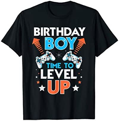 birthday boy time to level up video gamers birthday gift