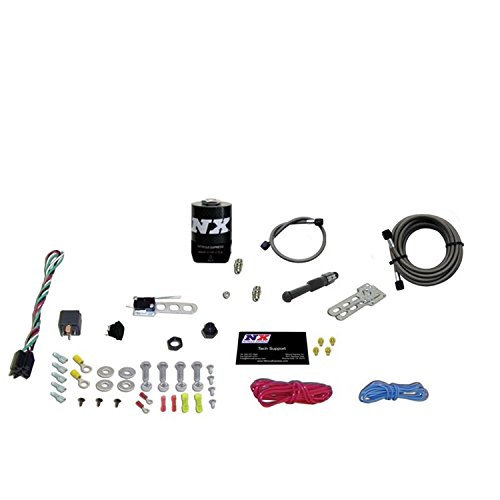 System Nozzle Single (Nitrous Express 21000-00 35-150 HP Dry EFI Single Nozzle System)